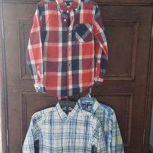 Three Tommy Hilfiger Shirts